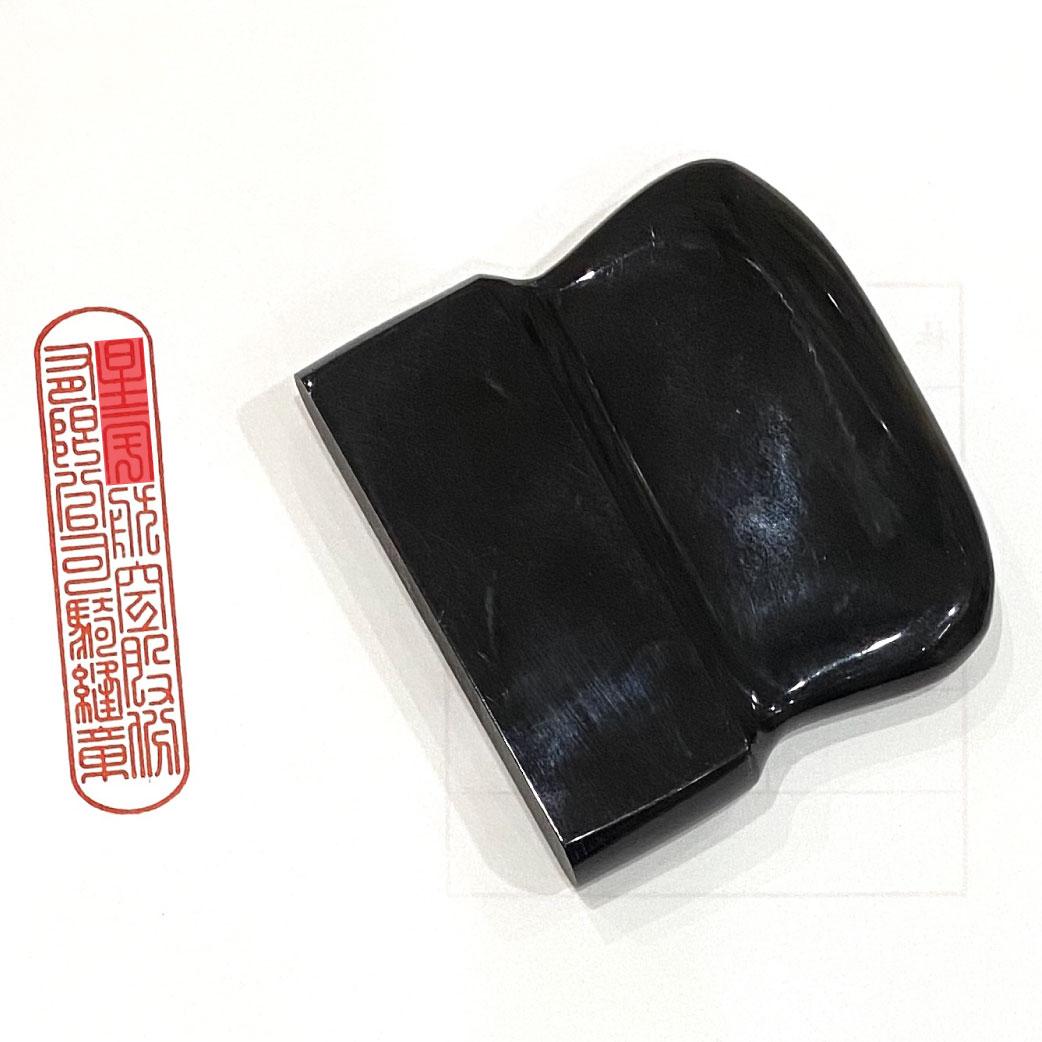 黑牛角騎縫章(割印) 1.5x7cm